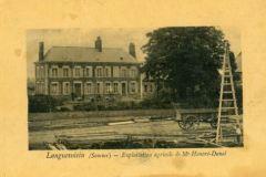 ancienne ferme Moizard vers 1914