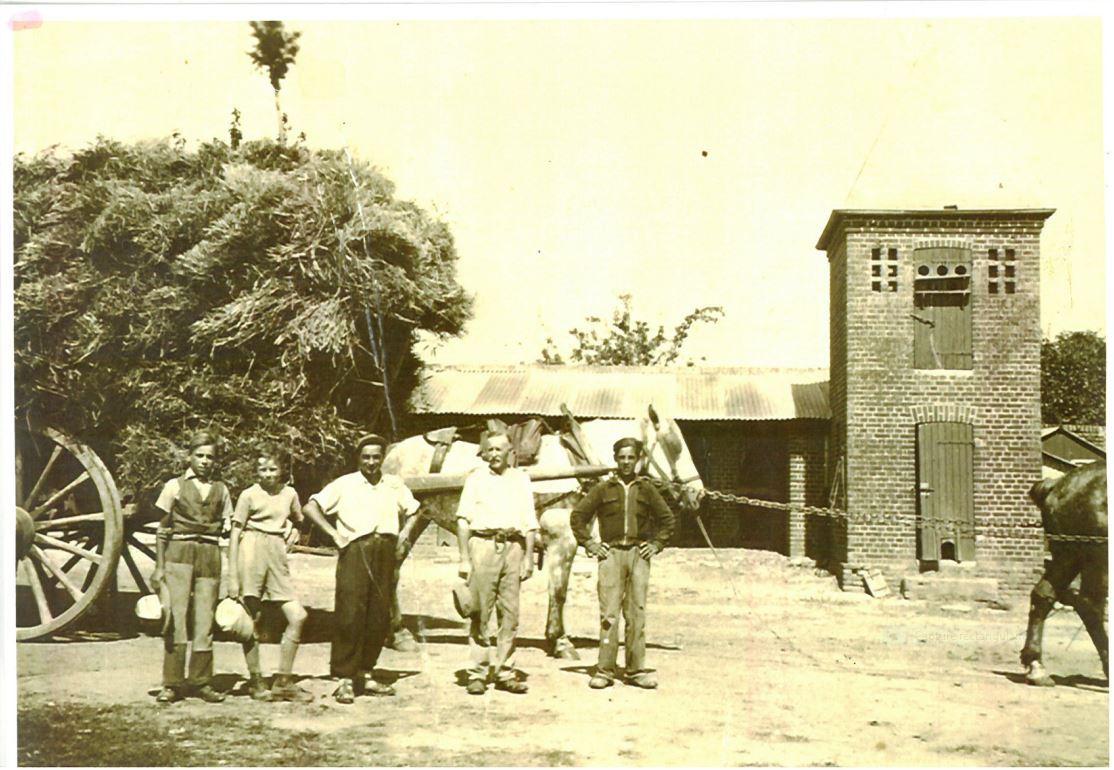 la ferme Lefèvre - années 40